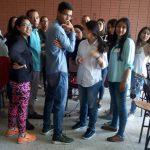 Estudiante UCAB en talleres con Eduardo Frontado